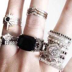 goals from Meadowlark jewellery Boho Jewelry, Jewelry Box, Jewelery, Fashion Jewelry, Jewelry Design, Grunge Accessories, Jewelry Accessories, Meadowlark Jewellery, Mourning Jewelry