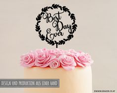 Best Day Ever, Cake Toppers, Birthday Cake, Etsy, Crown, Design, Hochzeit, Decorations, Birthday Cakes