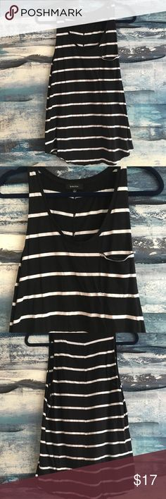 Aritzia Babaton Tank Size Small Black and white Babaton Tank Size Small. Purchased from Aritzia. Worn once excellent condition. Tops Tank Tops