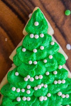 The BEST Buttercream Frosting for Sugar Cookies from The Food Charlatan