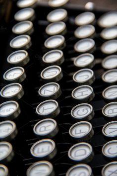 Typewriter by Liis's Photos #vintage #technology