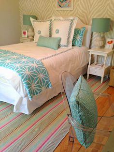 Stephanie Kraus Designs: Teen Girl's room ... A Before and After