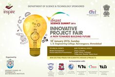 Vibrant Science Summit 2016 Sun 10:00 AM · L.D. College of Engineering · Ahmedabad