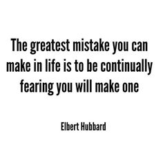 """NO FEAR. """"Mistakes"""" have led me to the greatest moments of my life they have taught me to surrender to the fact that they will happen again and again. Forget the label """"mistake"""" and change it to growth. #qotd #nosuchthingasmistakes"""