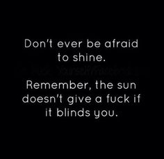 Rise and shine, ladies!!! Be bright...be blessed!
