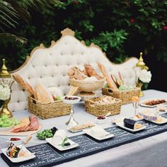 Brides.com: . Buffets Really are the Way to Go. To cut staffing costs, consider a buffet. Depending on the caterer, you could save anywhere from $1,500 to $3,000 per 100 guests, and you often get more food for the amount you pay, compared with a plated dinner. — Candace Kiersky and Basia Biddle,  Tarallucci e Vino, NY