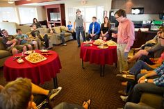 Eating cheese. Since 2005, The Honorable Biola Cheese Society has been one of Biola's most popular clubs.