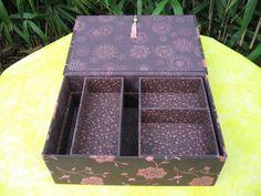 Cartonnage - Boîte à couture