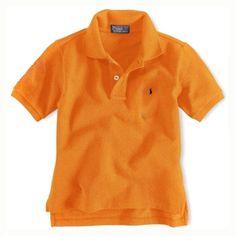 8ecdec1ebf98 Enfants coton à manches courtes Polo à Orange Polo Ralph Lauren Outlet, Ralph  Lauren Shorts