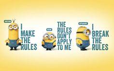 #minions #cute #rules