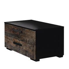 Nachttisch Sumatra - Vintage Braun der Marke Rauch Select, Maße: Breite: 55 cm Höhe: 34 cm Tiefe: 41 cm, Farbe: