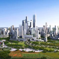 The architects behind the Kingdom Tower have been chosen to build a completely new suburban city from scratch on the outskirts of Chengdu in southwest China