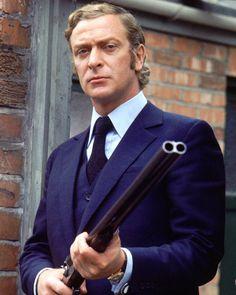 voxsartoria — Mayhem In Bespoke Coat And Tie.  Michael Caine,...