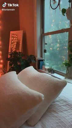 Cozy Bedroom, Girls Bedroom, Bedroom Decor, Bedroom Inspo, Dream Bedroom, Bedroom Ideas, Cozy Rainy Day, Rainy Days, Day Room