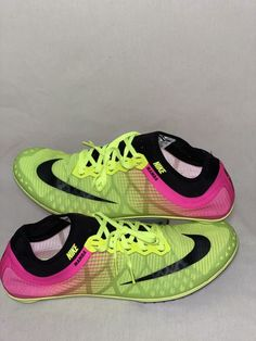f22c0be821c Extra Off Coupon So Cheap Nike Zoom Mamba 3 Track Spikes Mens 14 Lime Black  Pink