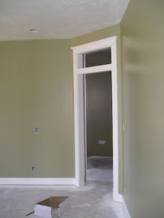 Benjamin Moore Olive Branch paint color