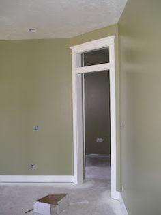 Benjamin Moore Olive Branch paint color