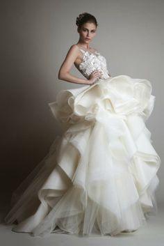 Vestido de Noiva ♡ Coleção Krikor Jabotian Para Noivas Modernas   Wedding Dress ♡ Krikor Jabotian Collection For Modern Brides