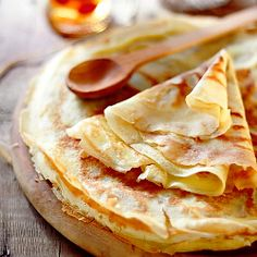 Crêpes: This takes leftover night to a whole new level. I used to think they were VERY complicated- turns out the beating of the egg adds a stiffness to the batter (like a noodle pâte) that makes them super easy to cook and flip.  #CheatOnGreek and #Contest