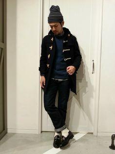 MYSELF ABAHOUSEグランフロント大阪店|seike hirokiさんのダッフルコートを使ったコーディネート - ZOZOTOWN