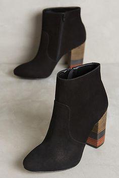 Vicenza Color-Stack Heels - anthropologie.com