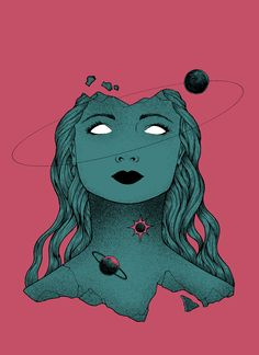 The Universe on Your Shoulders on Behance