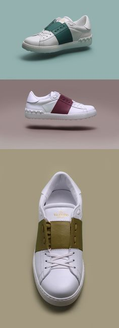 "Next Level Colour Blocking | Valentino Uomo ""Open Sneaker"""