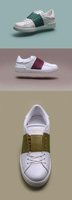 "Next Level Colour Blocking | Valentino Uomo ""Open Sneaker"""