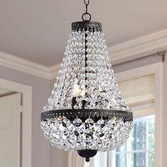 Symmetric 6-light Antique Copper Chandelier - Overstock™ Shopping - Great Deals on Chandeliers & Pendants