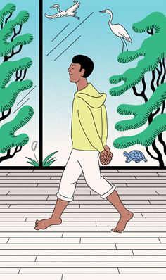 Leslie Booker, How to Meditate, Walking Meditation, Shambhala Sun, Lion's Roar, Buddhism