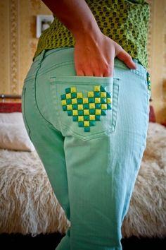 Благодарность за дар Бирюзовые джинсы Tom Tailor