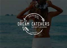 Logo for a bohemian clothing brand Dream Catchers