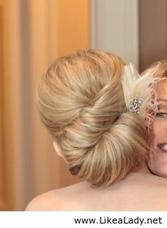 Elegant updo idea