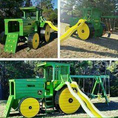 Hele gave speel tractor!