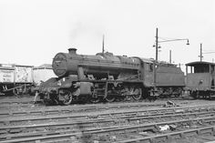 LMS 8F Class 2-8-0 No 48479 at Willesden Shed 7 July 1963 FG Steinle...AUG16