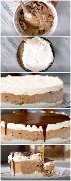 Torta de Sorvete e Bombons, fácil e deliciosa! (veja a receita passo a passo) #torta #tortadesorvete #tortadebombons #tastemade