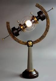 Steampunk lights are awesome!
