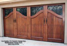 Mediterranean Style Garage Doors   Custom Designed & Manufactured in California mediterranean garage and shed