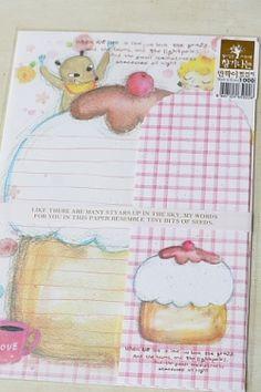 Kawaii Letter Set - Love Cake