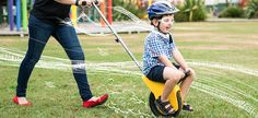 A unique balance bike riding experience that develops confidence for your child. The perfect ride on toy