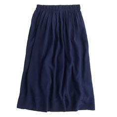 "A pleated skirt with a chic paper-bag waist adds a little something extra to your wardrobe. The pull-on elastic waistband means it's comfortable enough for the weekend, while the sleek midi length makes it polished enough for weekdays. That's what we call a win-win. <ul><li>Sits at waist.</li><li>29"" long.</li><li>Falls below knee.</li><li>Poly.</li><li>Elastic waistband.</li><li>Lined.</li><li>Machine wash.</li><li>Import.</li></ul>"