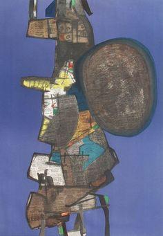 Maurice Esteve: Bank Street, 1967 - lithograph