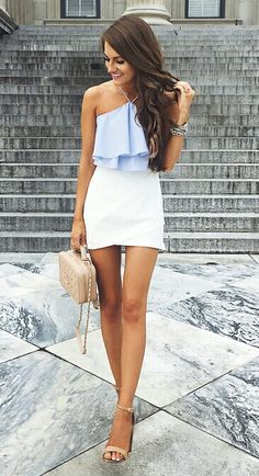 The best collection of Ultimate Trending Street Style Outfits Trend Fashion, Look Fashion, Latest Fashion Trends, Womens Fashion, Preppy Fashion, Feminine Fashion, Fashion Ideas, Fashion Beauty, Fashion Check