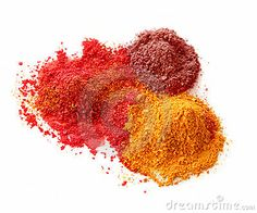 Spicy Color Powders Royalty Free Stock Photo - Image: 19627645