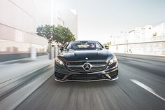 Black thunder - The Mercedes-Benz S-Class. Photo by William Walker for #MBphotopass via @mercedesbenzusa