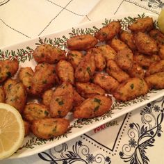 """Don't these look delicious? They're famous Portuguese cod and potato croquettes. I made them for Christmas Eve. """"Feast of the seven fishes."""""""