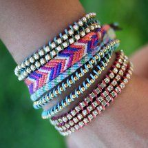 In Bracelet Bonanza! 36 Cool Bracelets to Make, you'll find bracelet patterns for every medium imaginable, from macrame cord bracelets to polymer clay cuffs and everything in between.