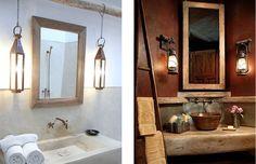 Tips imprescindibles para baños rústicos perfectos                                                                                                                                                                                 Más