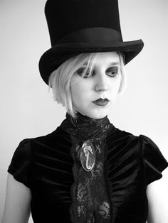Gothic style and inspiration, but not a Goth Girl.pretty nonetheless