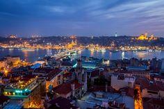 Istanbul Galata Bridge [2048 x 1365]